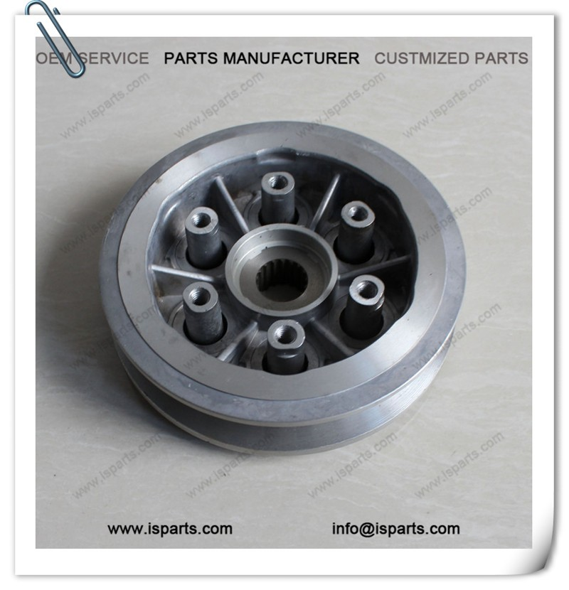 Three wheeler motorcyle spare parts 180cc bajaj clutch with good price