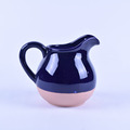 Blue decoration ceramic watering can wholesale