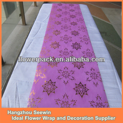 Fashion Cheap Non-woven Table Runners Wholesale