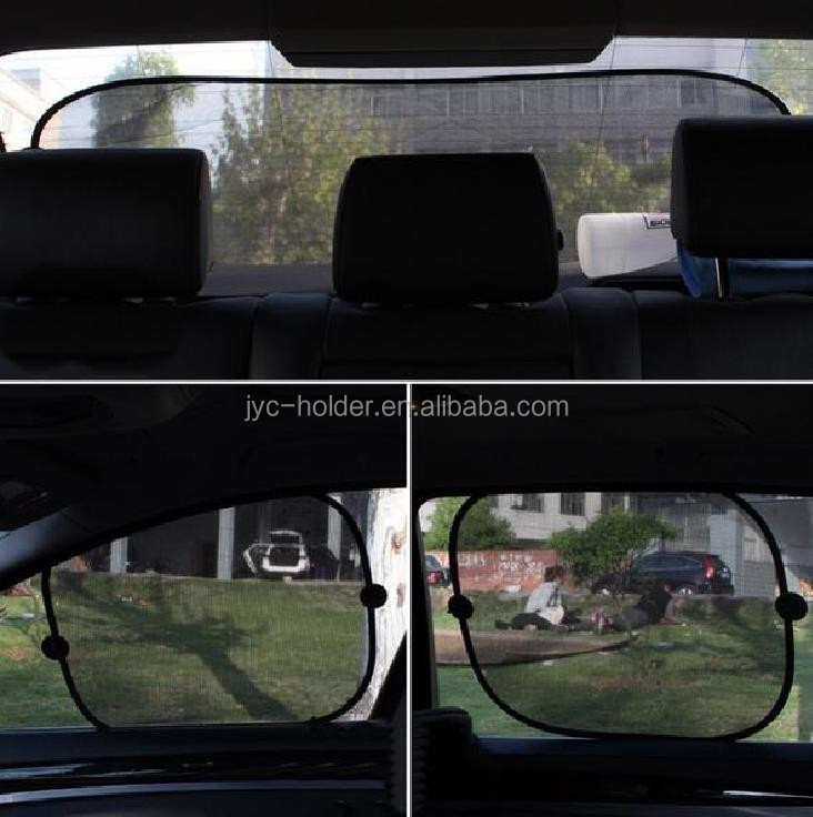 5pcs Set Car Window Sun Shade Car Windshield Visor
