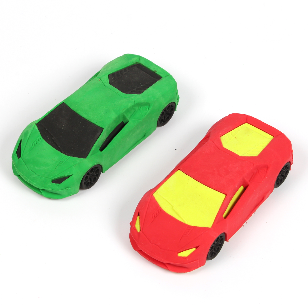 Sports Car shaped eraser