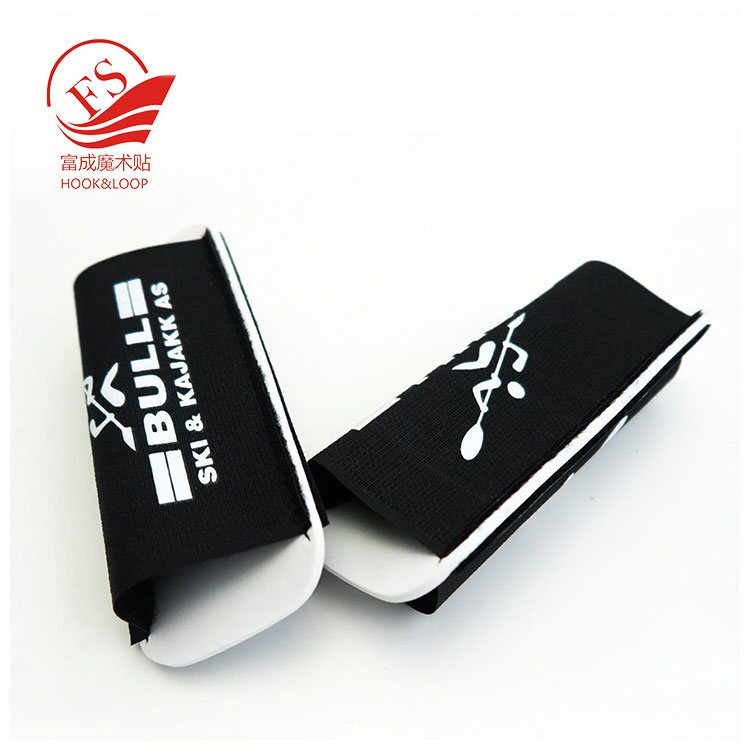 Wholesale 56*137mm nordic ski poles strap skiing sleeve with logo printing