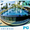 PG High Standard Clear Acrylic Swimming Pool Wall Panels