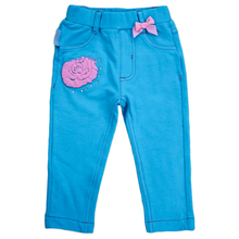 Pants trousers girl children's with waist elastic