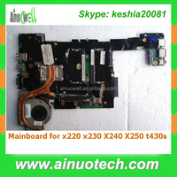 Integrated Laptop System board Laptop Motherboard for Lenovo x220 x230 X240 X250 t430s Mainboard Replacement
