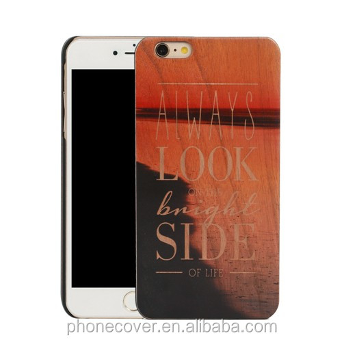 Handmade plain wooden veneer, mobile phone case for lenovo s920