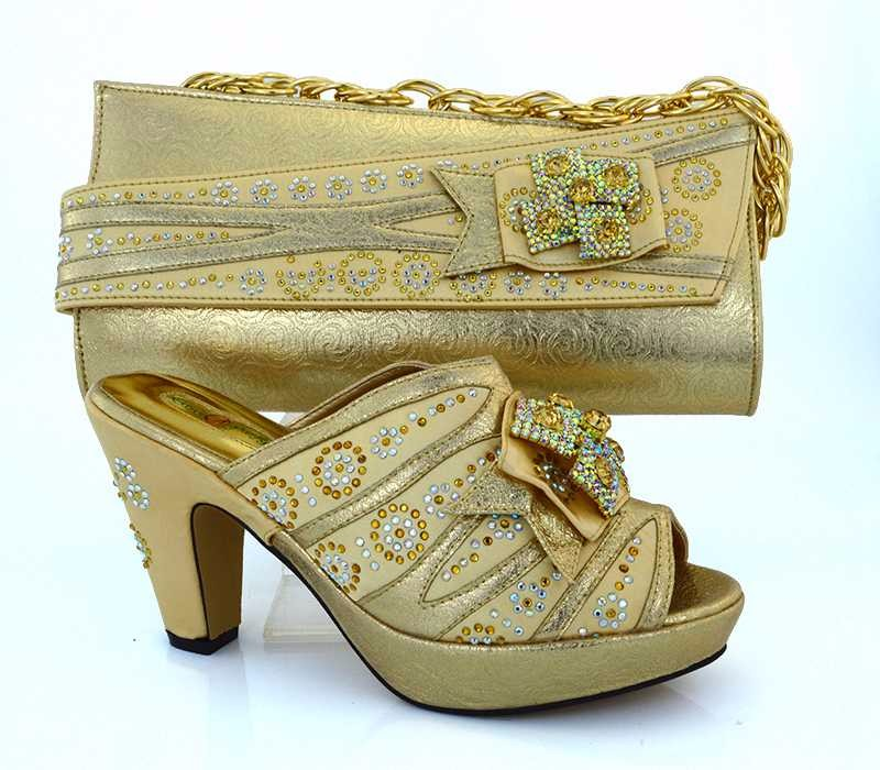 AB8410#3 high heel designer shoes and bags to match