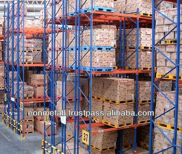 Malaysia Eonmetall Good Selectivity Double Deep Pallet Racking