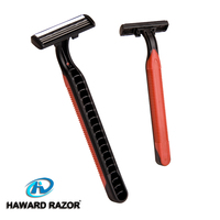 D227L wholesale non-slip rubber grip handle manual hair trimmer