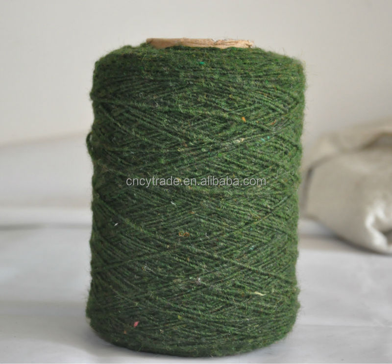 cotton wool blended for weaving wool yarn on cone