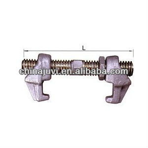 Screw type container bridge fitting