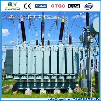 110kV Three-phase Three Winding no-load-tap-changing Power Transformer