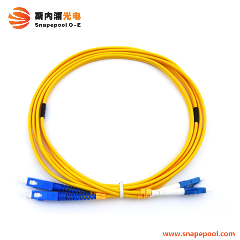 SC / FC / ST / LC Indoor 3m Corning Fiber Optic Patch Cord