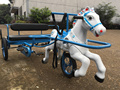 Amusement park horse bike car factory