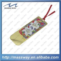 manufacture personalized metal etched brass customized paper bookmark