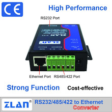 ZLAN5103 RS232 RS485 RS422 to Ethernet Converter serial to RJ45 serial port server