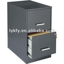 KFY-B-02 Gray 2-Drawer Office Furniture Office Depot