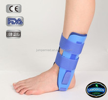 Orthopedic gel ankle immobilizer
