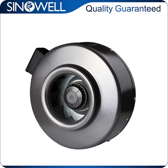 Small Inline Exhaust Fans : Small cooling fan impeller inline ventilator