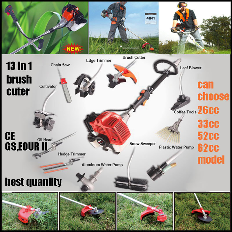 9 in 1 multiple brush cutter