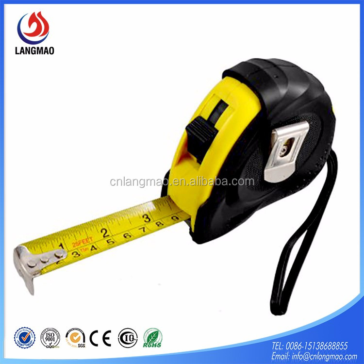 New metal steel tape measure made in China distance wholesale construct tools