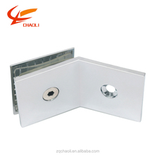 135 Degree Clamp Door Glass Panel Hardware