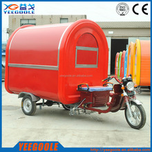 Mobile Ice cream kiosk,trolley Electric tricycle vending mobile food cart