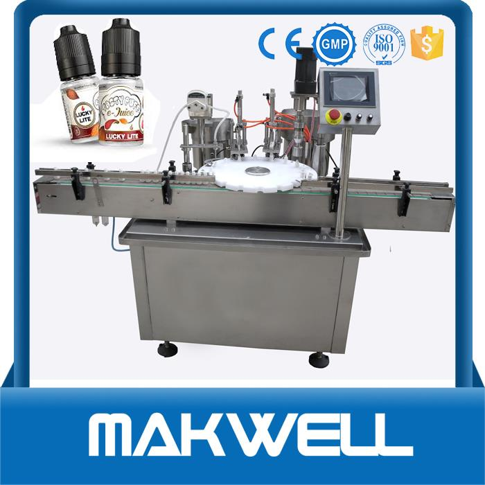 automatic 10ml e-liquid bottle filling machine made in China