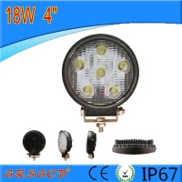 Top Sale 4'' 18w 12v auto led spot light for truck tractor atv utv and motorcycle