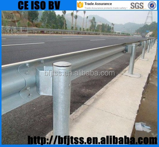 Safety terminal Stainless Steel highway railing sale W Beam Driveway Road Guard Rails Suppliers guard rail suppliers