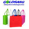 custom waterproof silicone bag fashion slicone shopping bag for girls