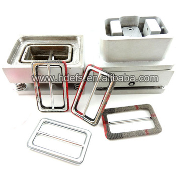 leather covered belt buckle cover mould