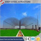 Design Of Space Frame Light Steel Structure Of Coal Shed Storage