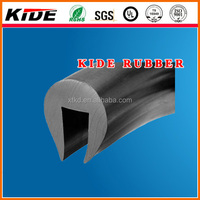 U Channel Rubber Beading PU Capping Rubber