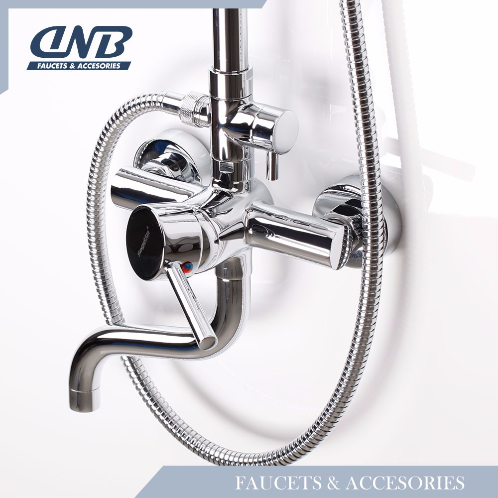 Factory Custom Classical Design Rain Shower Bathroom Digital Taps And Showers Faucet Parts