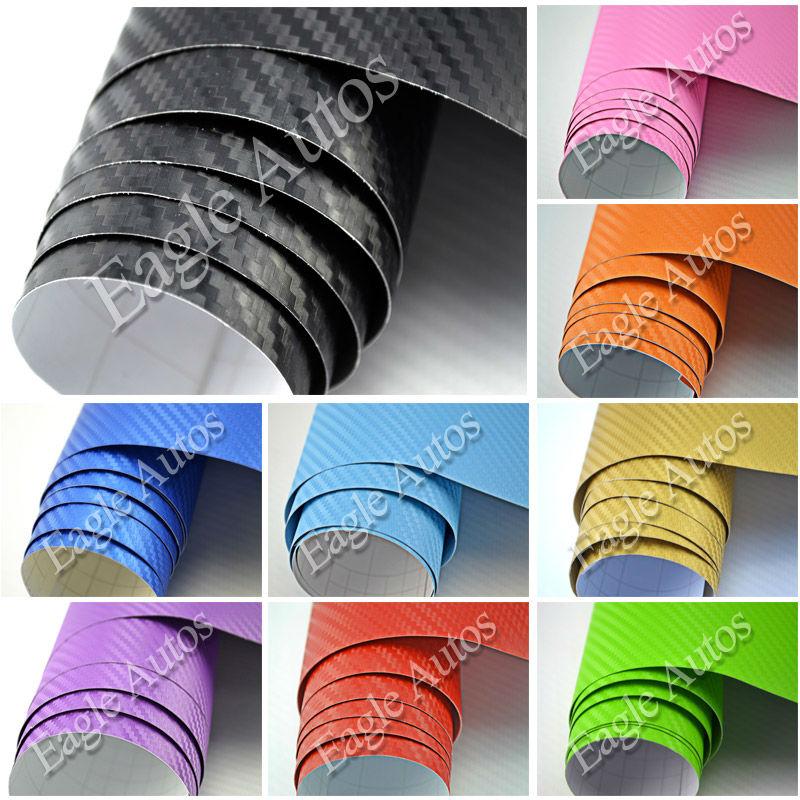 3d vinilo fibra de carbono del coche de la pel cula - Papel vinilo autoadhesivo ...