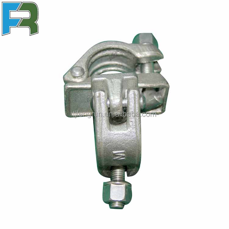 Wholesale building supplies scaffolding drop forged double coupler clamps clamp for construction