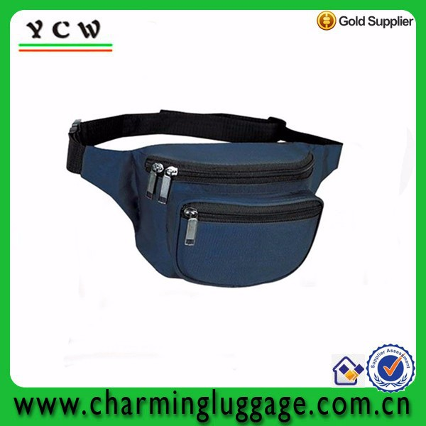 High quality navyblue waist bag cell phone belt bag
