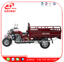 KAVAKI 150cc/200/250cc Rickshaw/Zongshen Engine cargo Tricyle Three Wheel Motorcycle/3 wheel car price