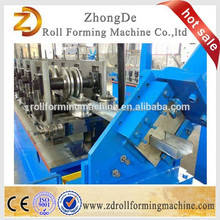hot sale !downspout forming round /square water tube/gutter tile downpipe machine