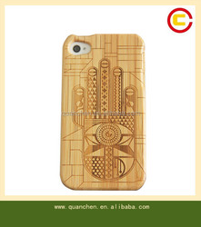 cheap mobile phone case bamboo case for iphone4s