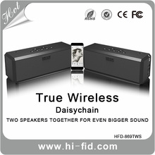 Low cost nfc vibration wireless bluetooth speaker