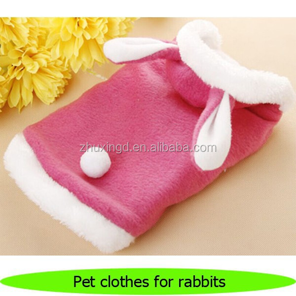 Pet clothes for rabbits, heated pet rabbit clothes, wholesale rabbit clothing