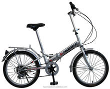 20 Inches 7 Speed Aluminum Alloy Mini Folding Bicycles