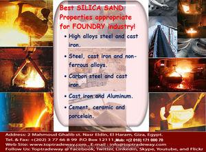 Foundry Casting Silica Sand Factory