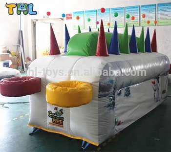 Factory Customized Printing Inflatable Under Pressure Balls Party Game for Adult Indoor