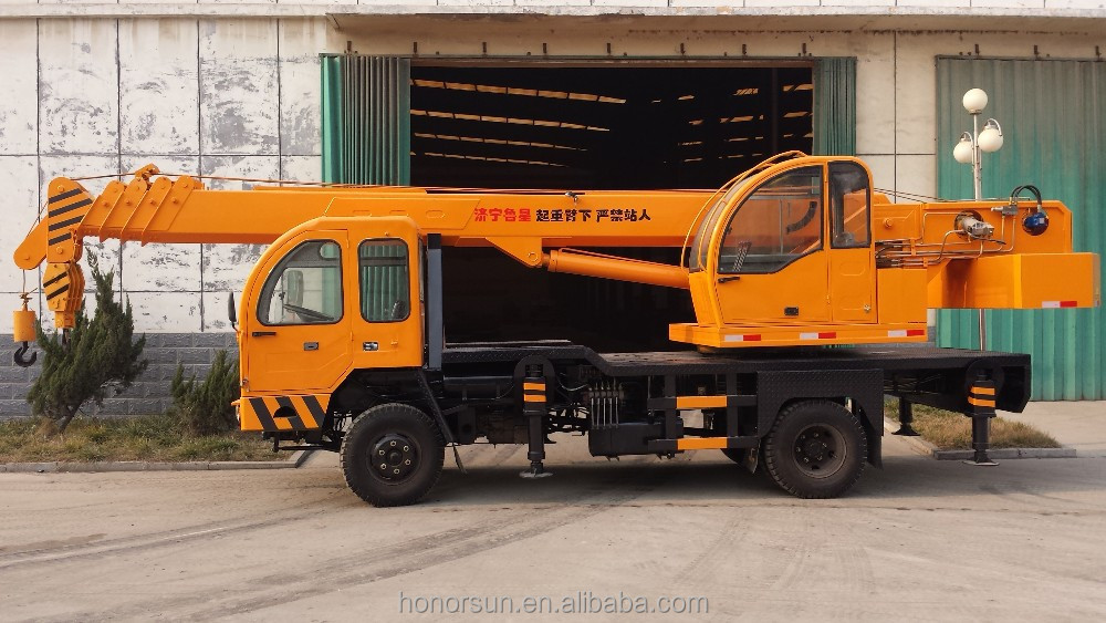 China High Sales Truck Mounted Crane( Honorsun Hsy8b ) 10 Ton ...