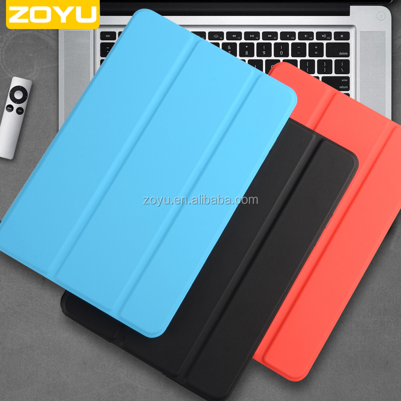 Leather Wallet Felt Auto Wake Sleep Function PU Leather Case For MiPad3