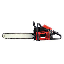 China manufacturer single cylinder 4.8KW two stroke air cooled 381 red chainsaw