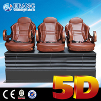 Oversea hot sell simulator 3d 4d 5d 6d cinema theater equipment